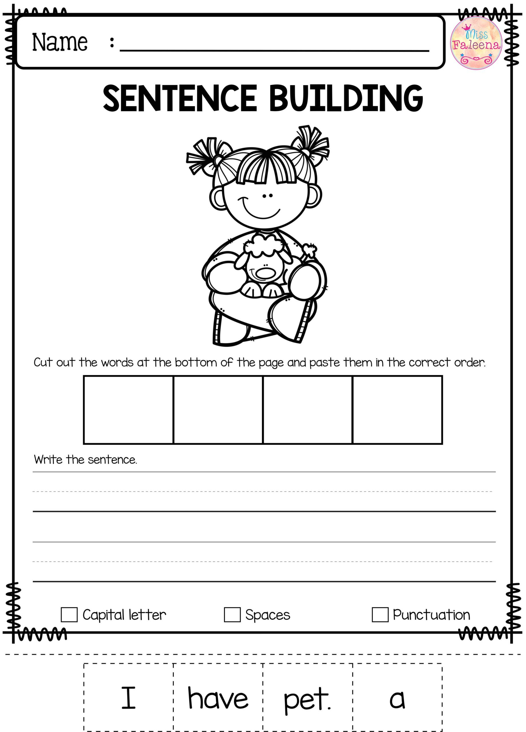 2Nd Grade Kindergarden School Comparing Objects Worksheets