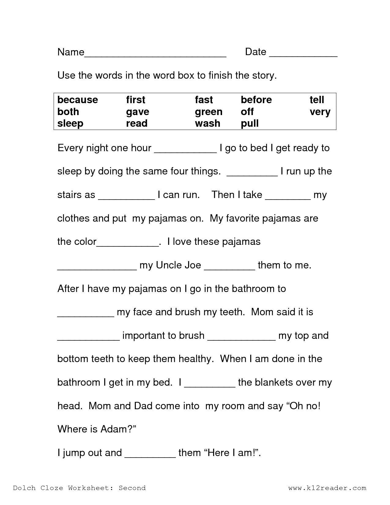 3Rd Grade Context Clues Reading Comprehension Worksheets