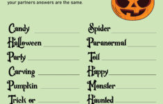 4 Best Halloween Party Games Printables Free – Printablee