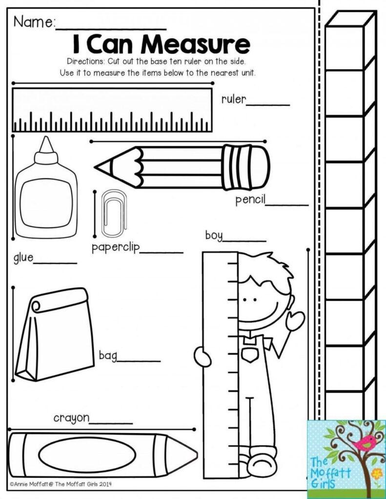 4 Worksheet Free Preschool Kindergarten Worksheets