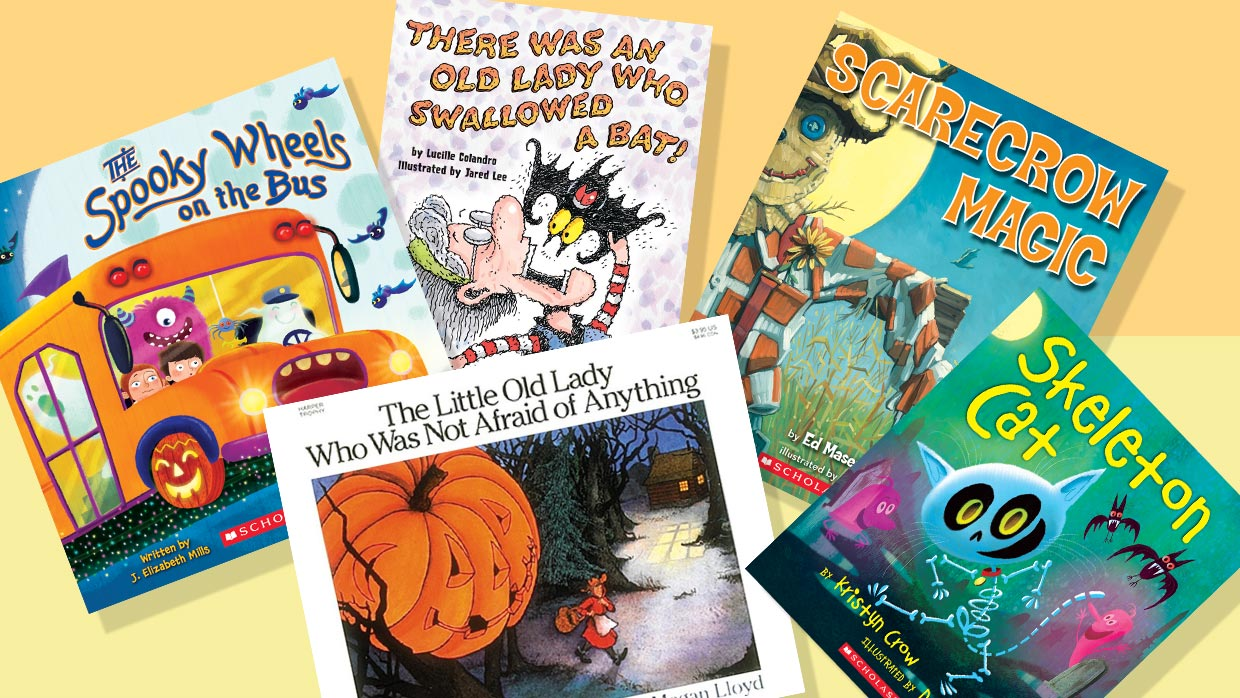 42 Fun Halloween Books For Kids Who Don't Like To Be Scared