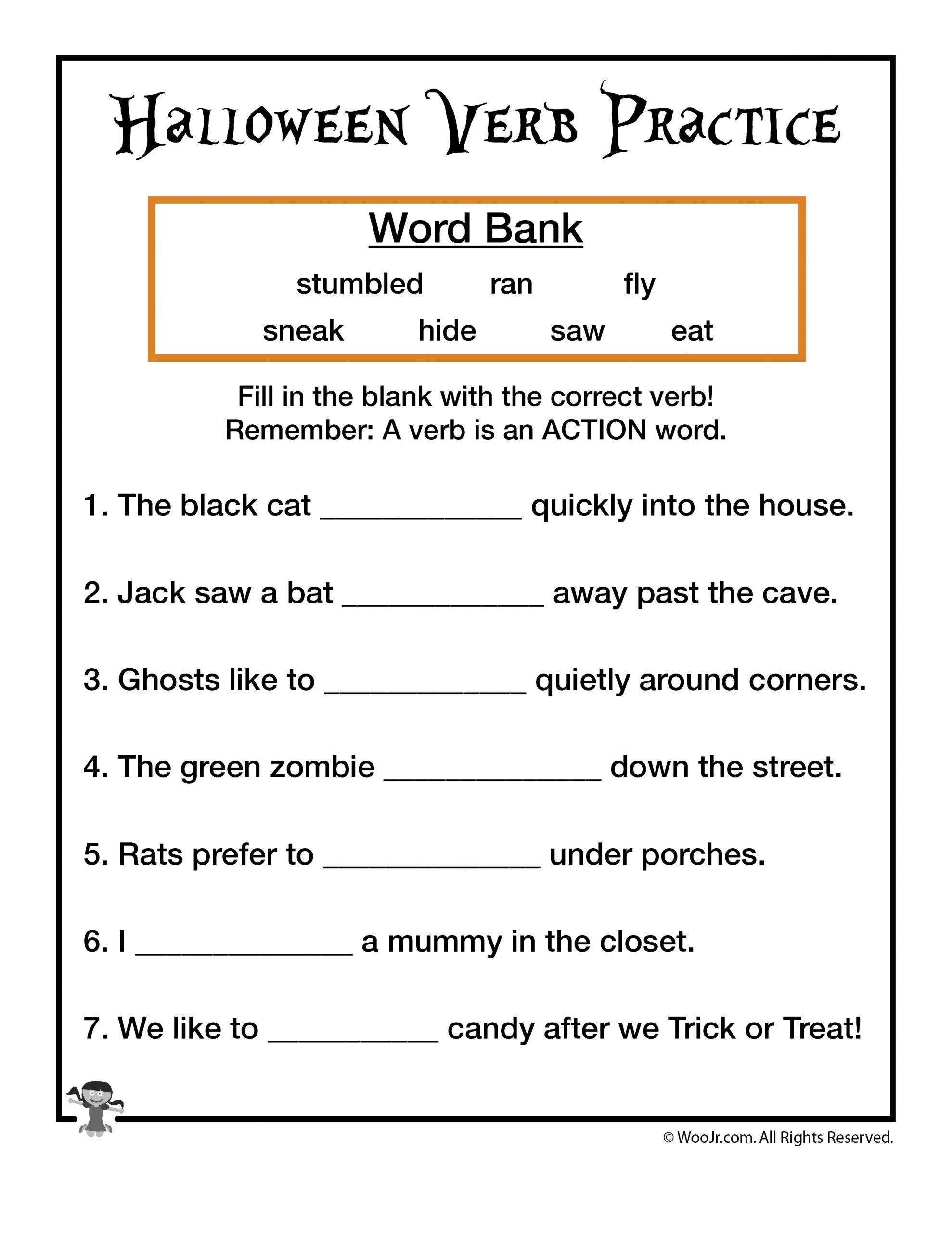 47 Verb Worksheet Activities Image Ideas – Lbwomen