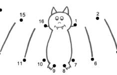 Free Halloween Connect The Dots Worksheets
