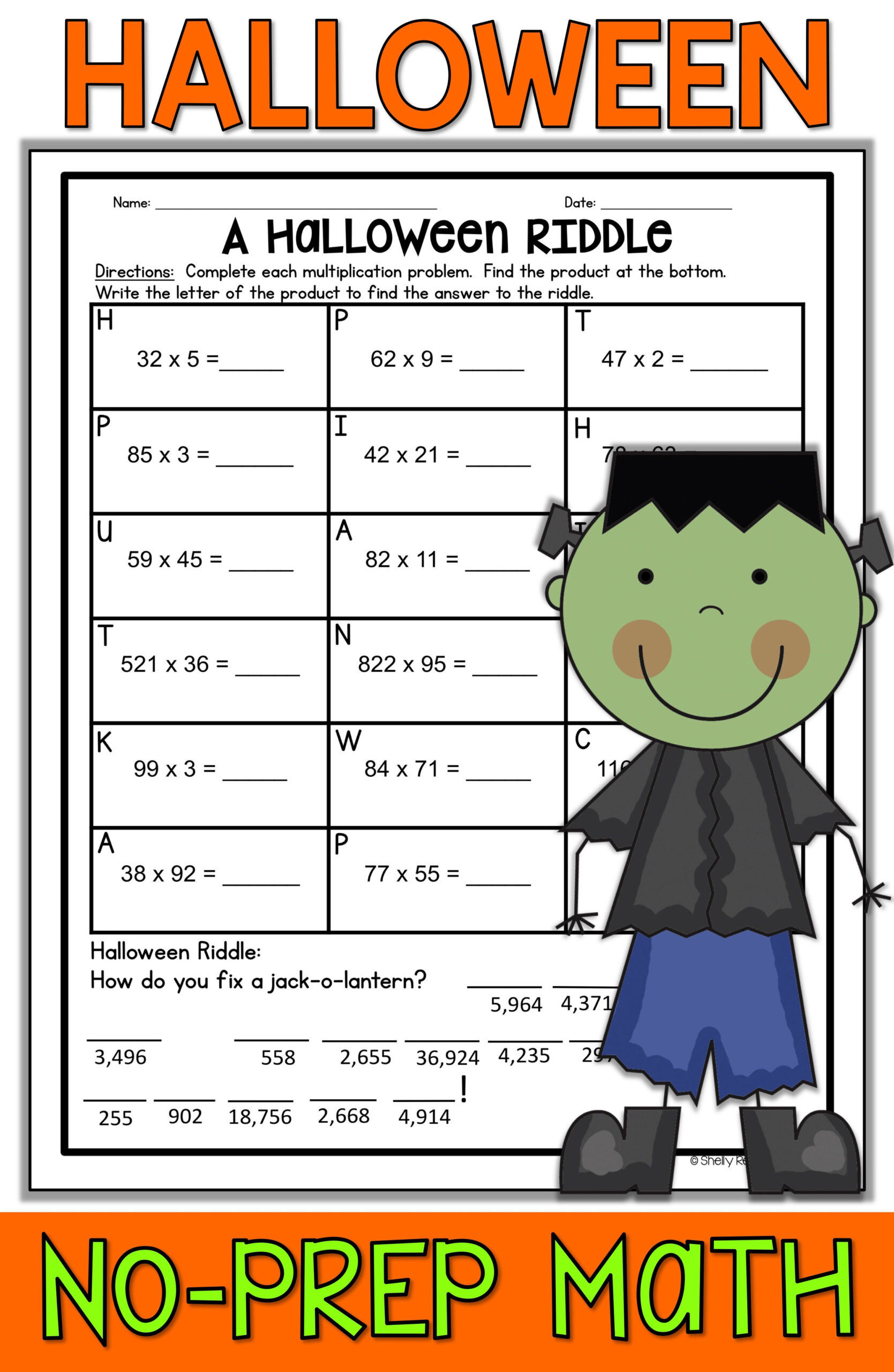 500+ Halloween Worksheets - Elementary Ideas In 2020