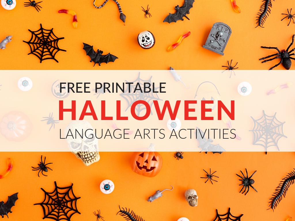 8 Free Ela Halloween Printable Activities
