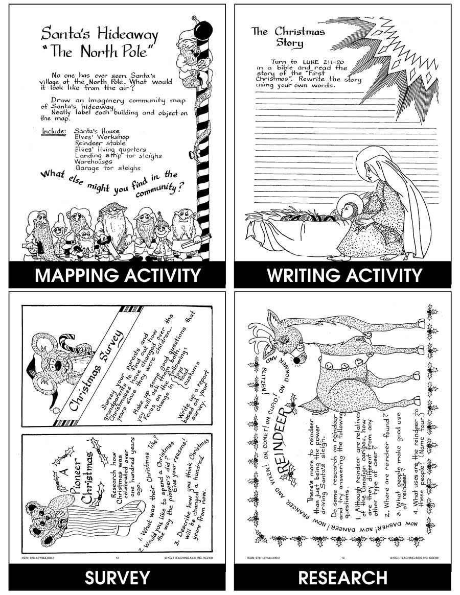 A Celebration Of Christmas - Grades 4 To 6 - Ebook - Lesson