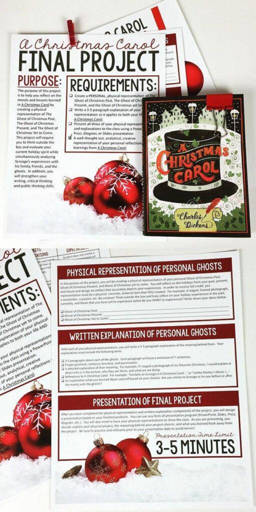 A Christmas Carol Project: Final Assessment   Christmas