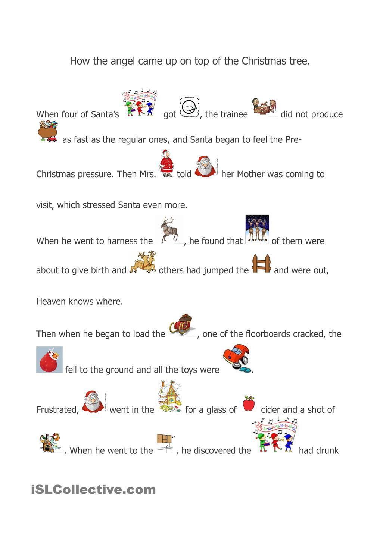 A Christmas Story   Christmas Worksheets, A Christmas Story