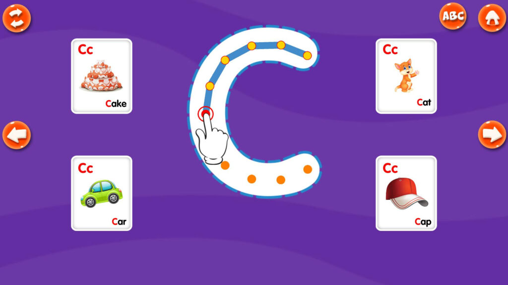 Abc Alphabet Tracing For Android   Apk Download Intended For Alphabet Tracing Game App