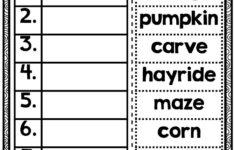 Free 2nd Grade Halloween Alphabetical Order Worksheets