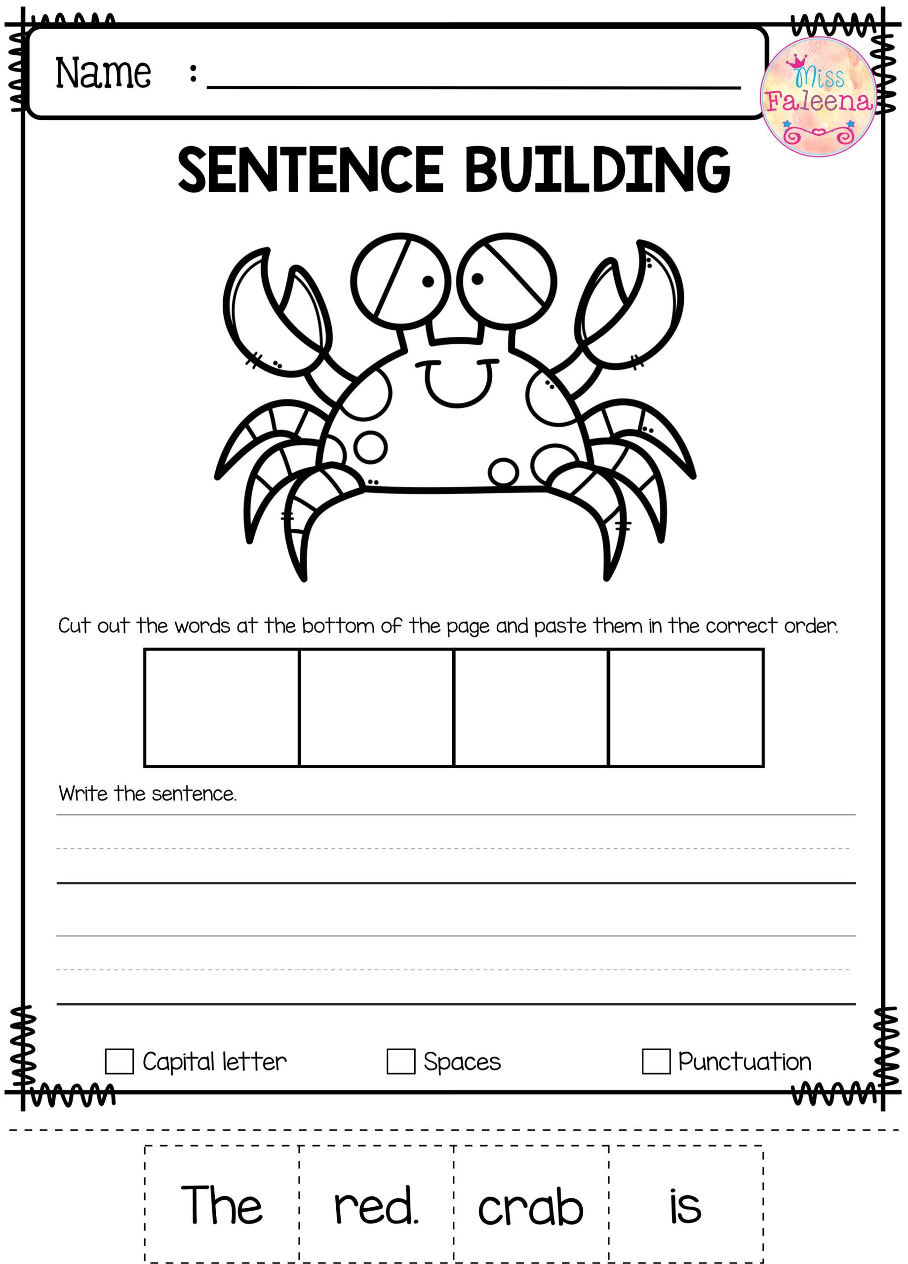 Activities For Kindergarten Educational Coloring Pages