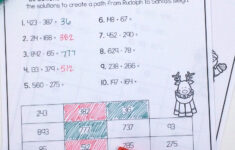 2 Digit Addition And Subtraction Christmas Worksheets