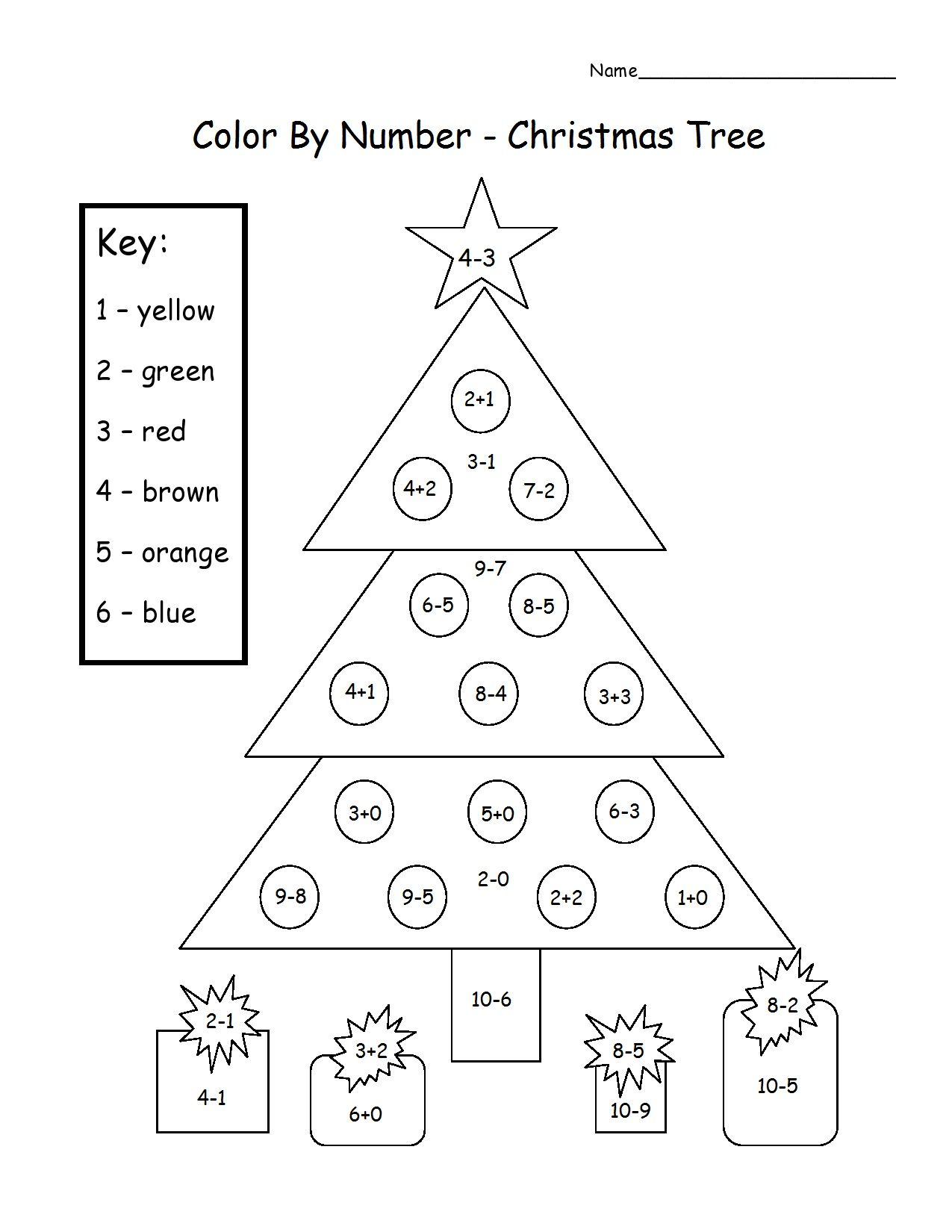 Almost December | Christmas Math, Christmas Math Worksheets