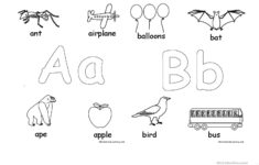 Alphabet Worksheets Coloring