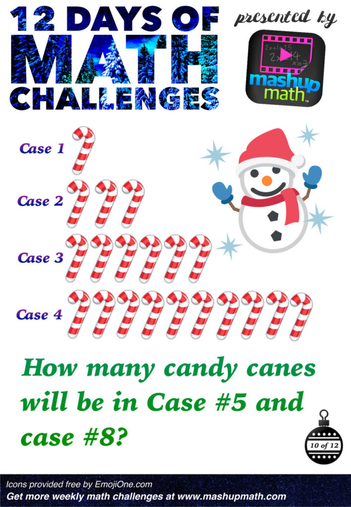 Are You Ready For 12 Days Of Holiday Math Challenges