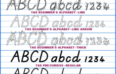 Australian School Fonts•instant Download Aussie Handwriting
