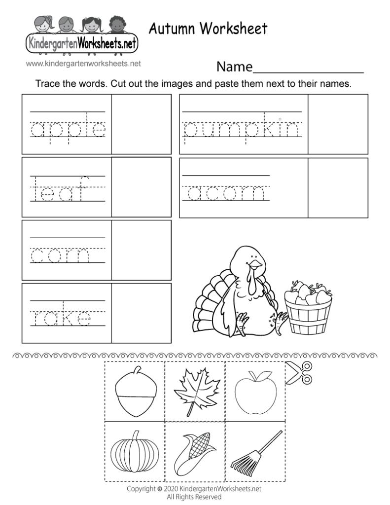 Autumn Fallheet Printable Preschoolheets Free For