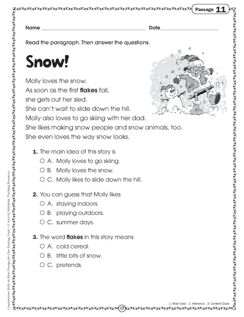 Awesome Readingsion 1St Grade First Pdf Dolch Words