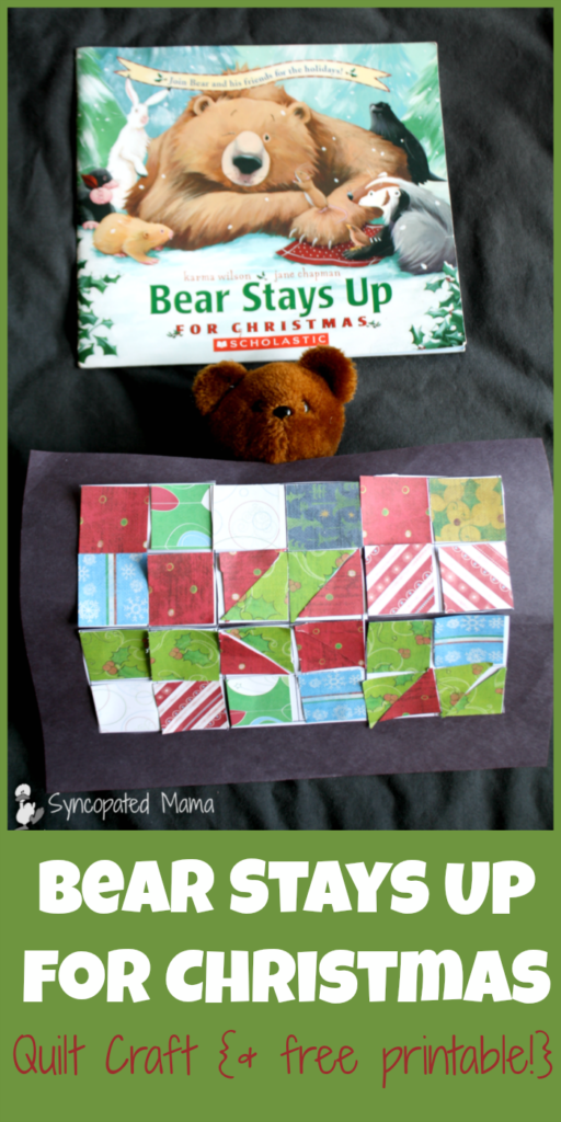 Bear Stays Up   Easy Quilt Craft | Halloween Arts And Crafts