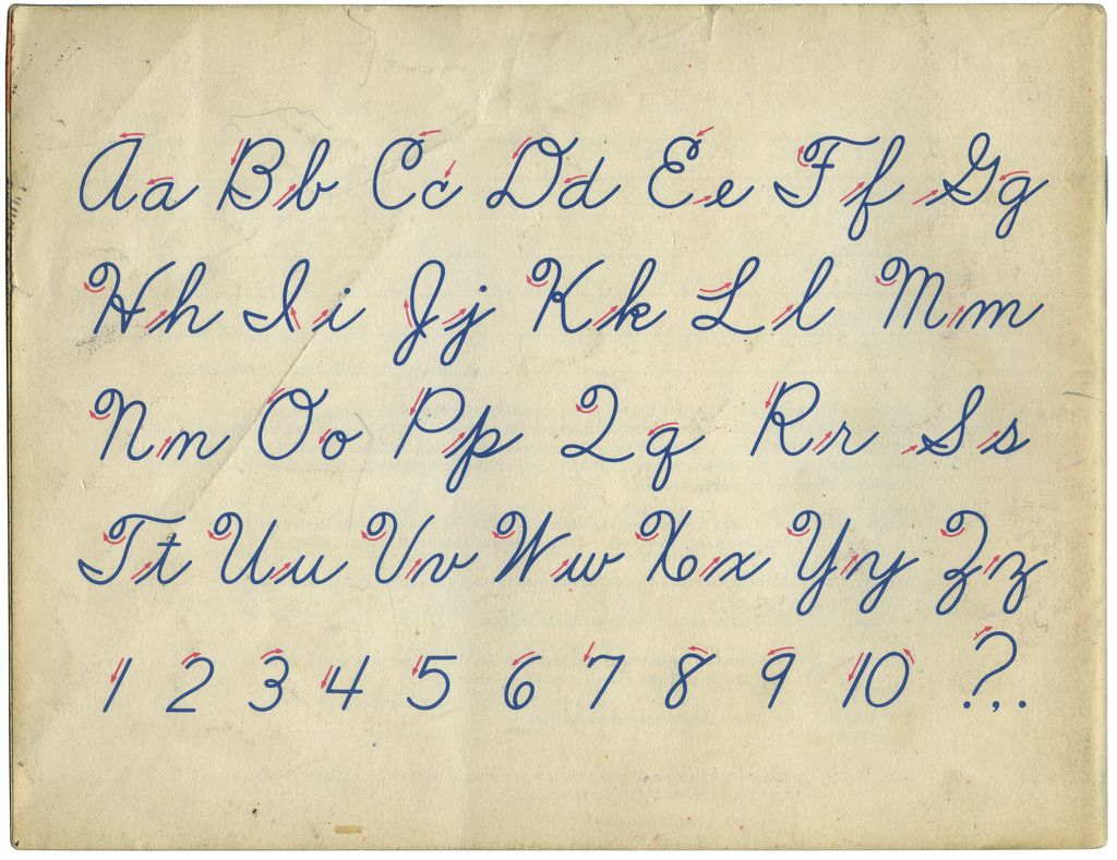 Better Handwriting For You 4: Back Cover   Cursive Writing
