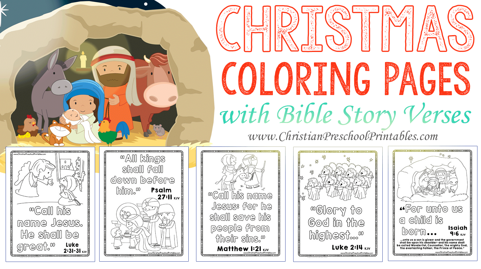 Bible Christmas Coloring Pages – Doctorbedancing