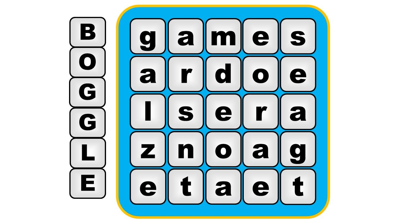 Boggle Vocabulary Game: Letters To Words | | Vocabulary
