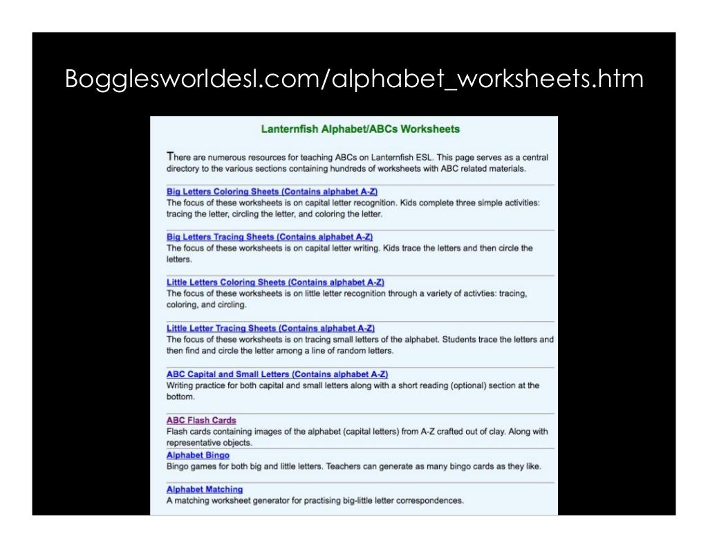 Bogglesworldesl Worksheet   Printable Worksheets And