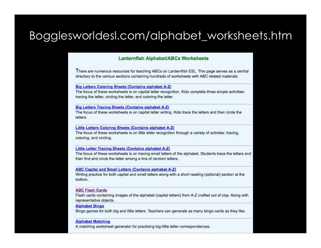 Bogglesworldesl Worksheet | Printable Worksheets And