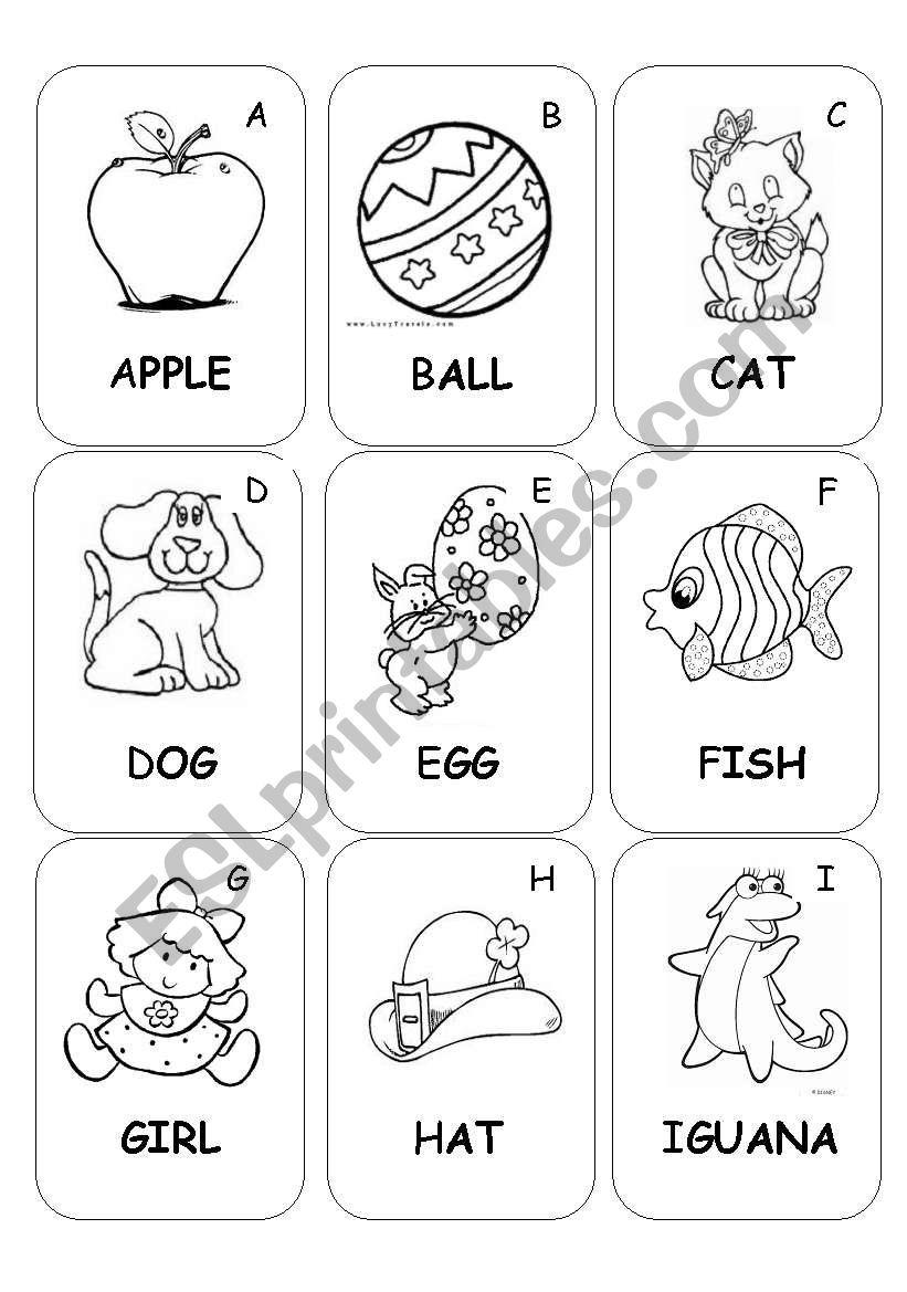 Book Part For Kids Esl Worksheetsunnykids English pertaining to Alphabet Book Worksheets