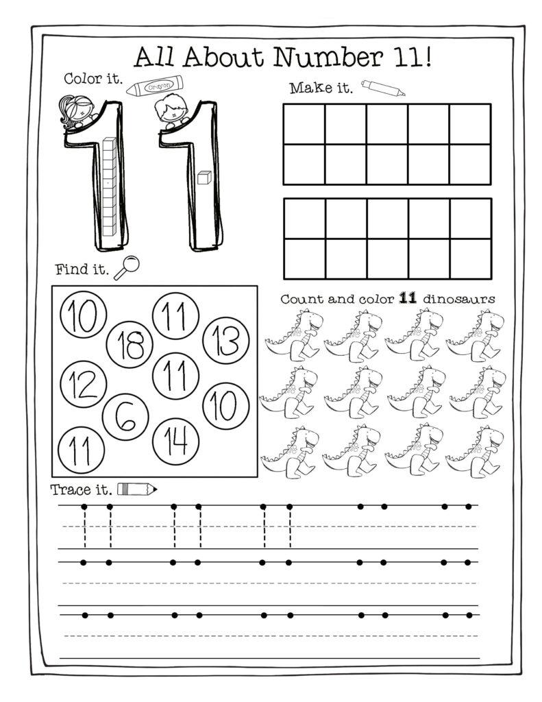 Building The Numbers 11 20 {Free Printables!}   Numbers