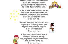 Christmas Song Lyrics Worksheets