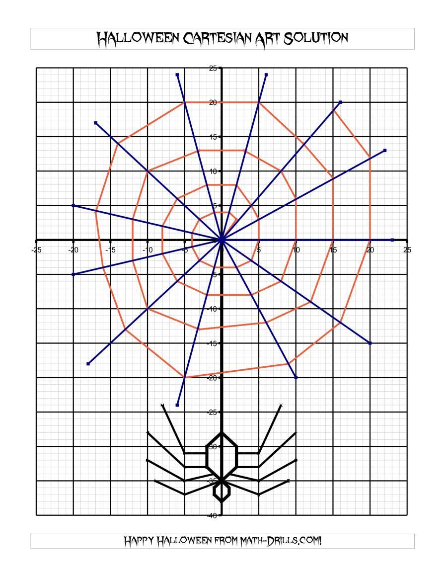 Cartesian Art Halloween Spider