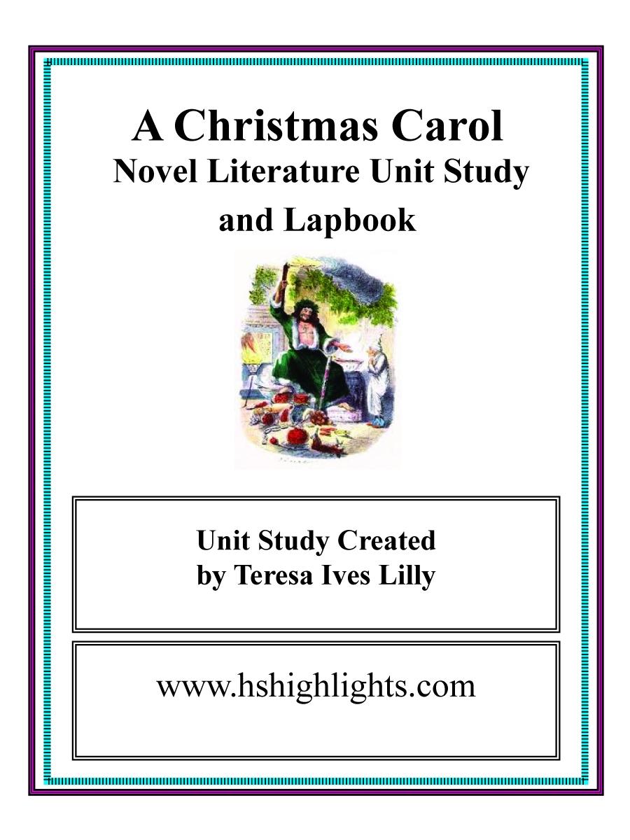 Charles Dickens A Christmas Carol ~ Lesson Ideas – Teach