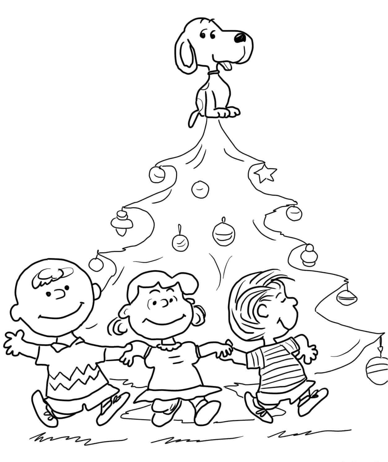 Charlie Brown Christmas Printable Worksheets | Printable