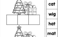 Christmas Word Family Worksheets