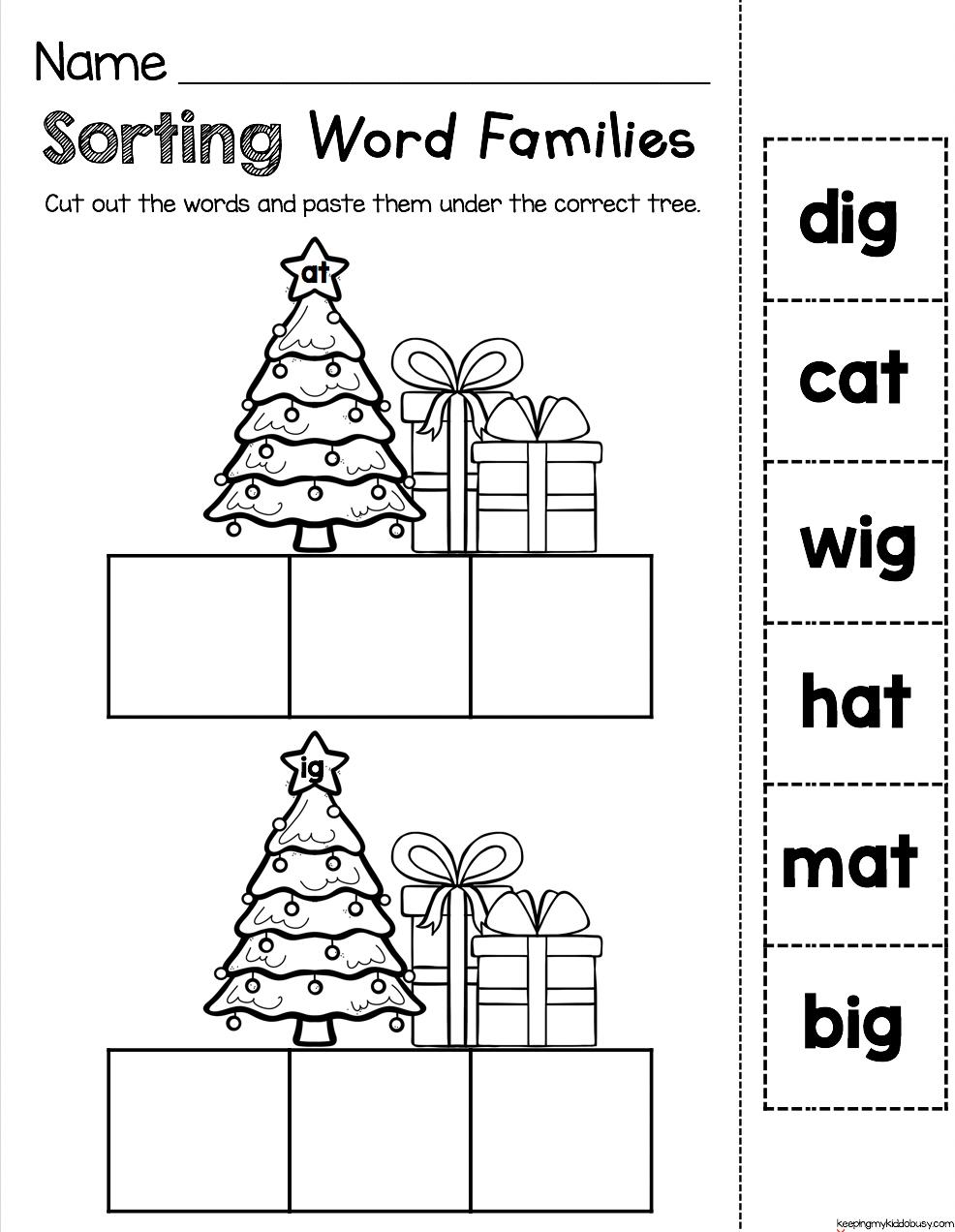 Christmas Activities And Worksheets - Santa Printables