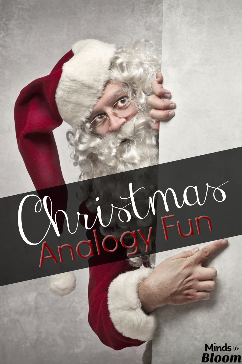 Christmas Analogy Fun - Minds In Bloom