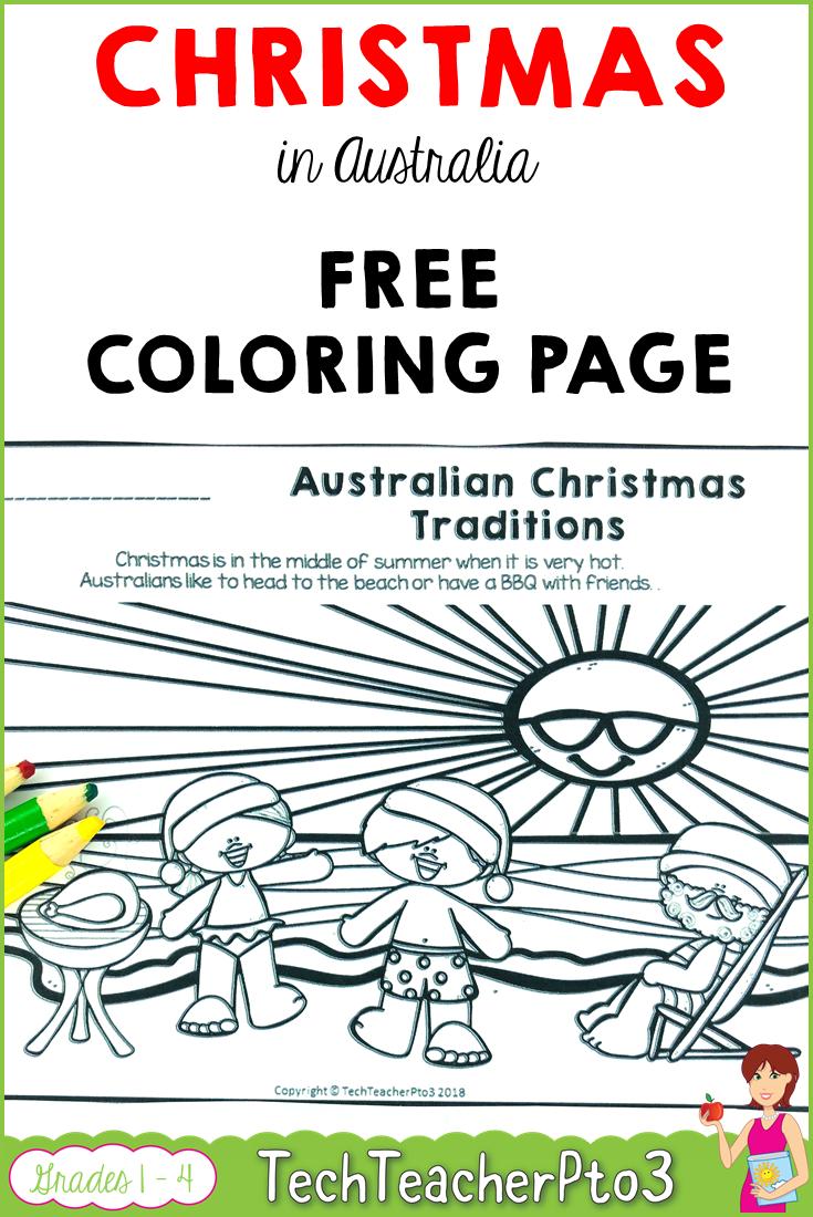 Christmas Around The World. Christmas In Australia Free