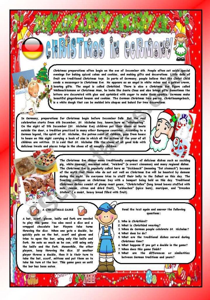 Christmas Around The World   Part 8 – Germany (B&w Version