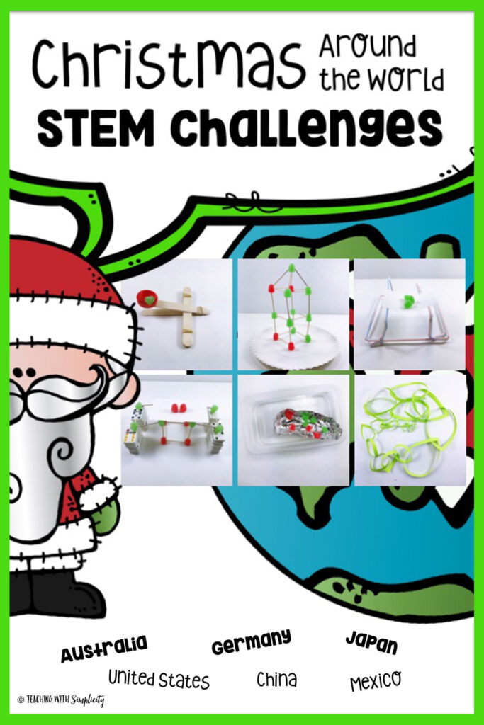 Christmas Around The World Stem Challenges   Christmas Stem