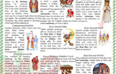 Free Printable Christmas Grammar Worksheets