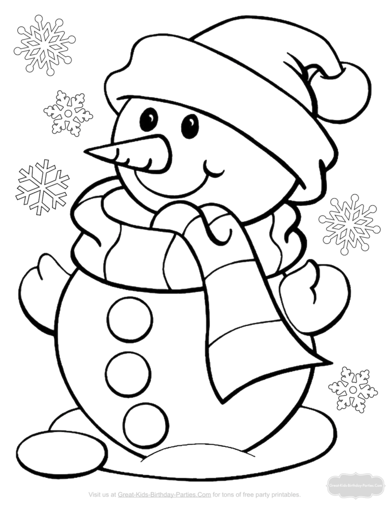 Christmas Coloring Pages | Christmas Coloring Sheets