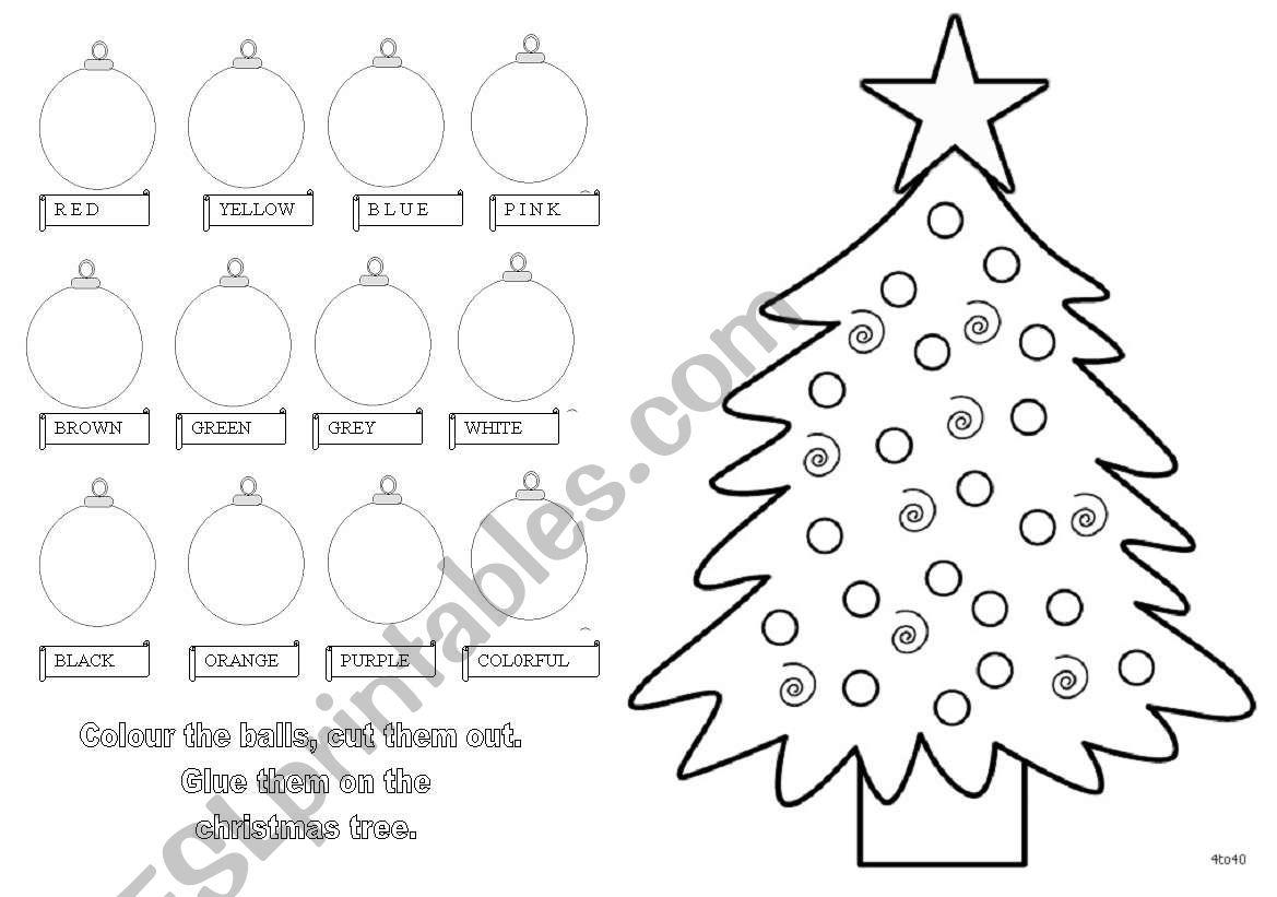 Christmas Craft - Esl Worksheetmajcek
