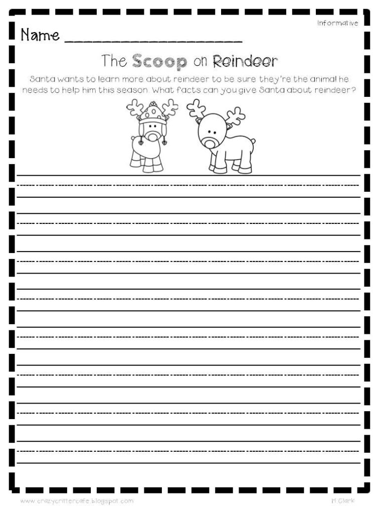 Christmas Creative Writing Prompts, Graphic Organizers For