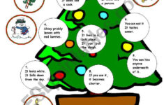 Free Christmas Cut And Paste Worksheets