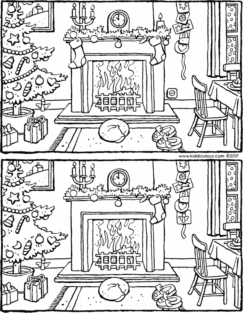 Christmas Find The Differences Pictures | Nvxwwg