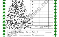 Christmas Tree Graph Worksheet