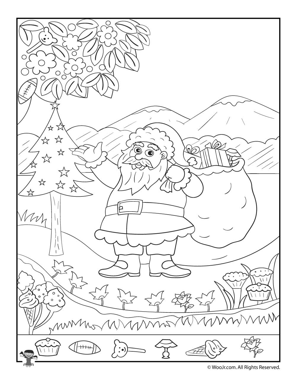 Christmas Hidden Pictures Printables For Kids | Woo! Jr