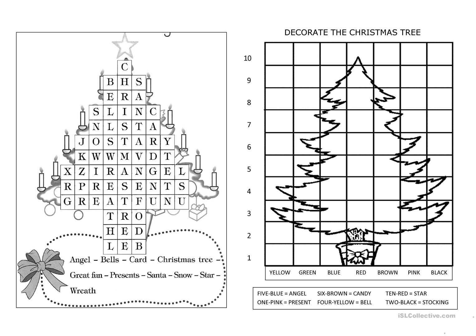 Christmas In Camelot Worksheets   Printable Worksheets And
