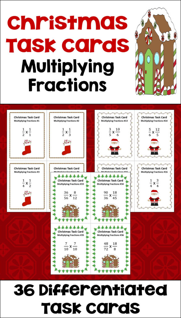 Christmas Math Is Fun For Kids With These Multiplying